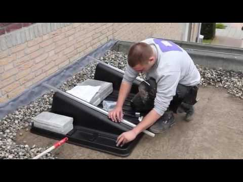 Instructievideo monteren zonnepanelen plat dak youtube
