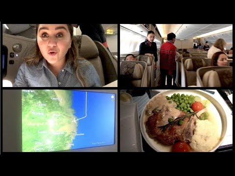 CHINA EASTERN BUSINESS CLASS - Los Angeles a Shanghai | OneThousandLooks
