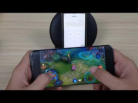 """Samsung Galaxy  S8 plus Tím Hoa Lan """" Thịt chó mắm tôm"""" Chơi liên Quân Max Setting  :))"""
