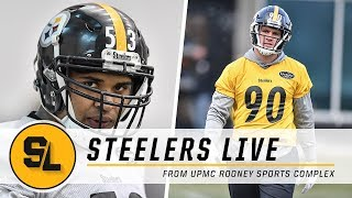 Watt, Pouncey Brothers Face-off on Sunday Night Football | Steelers Live