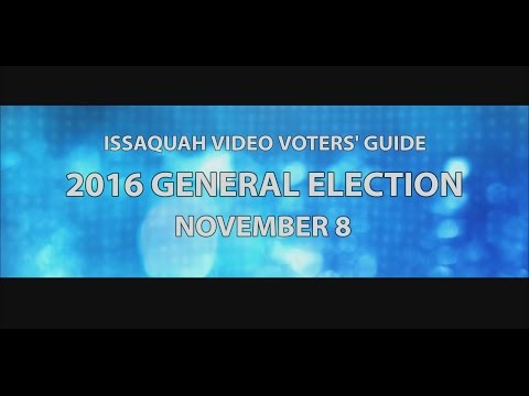 Issaquah Video Voters' Guide 2016 - Chad Magendanz