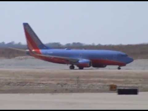 Inaugural Flight of Southwest Airlines into the Branson Airport