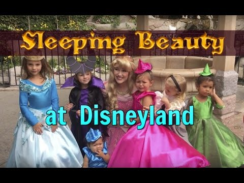 Sleeping Beauty Day @ Disneyland