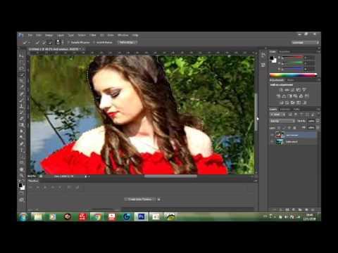การเปลี่ยนภาพพื้นหลังตอนที่ 2ด้วยPhotoshop cs6