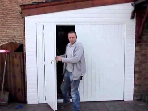 Avemoor garage doors  garage door with wicket door and remote controlled garage door  sc 1 st  YouTube & Avemoor garage doors  garage door with wicket door and remote ...