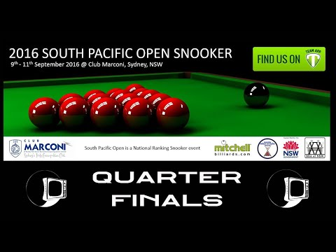 South Pacific Snooker 2016 | LAST 8
