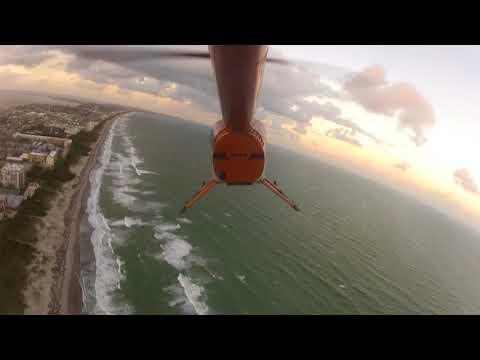 Cocoa Beach Florida Helicopter Ride