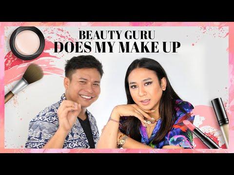 DI MAKE UP IN SAMA MUA NYA NY FASHION WEEK - #BeautyGuruDoesMyMakeUp || Jovi Hunter Ft Ryan Ogilvy