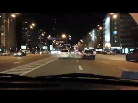 Bad drivers in Kiev 20131127-28