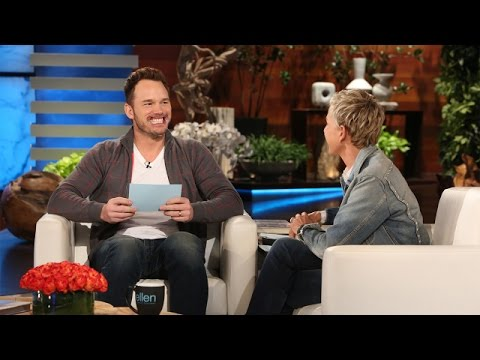 Chris Pratt Plays 'Speak Out'