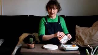 Savitöitä kotona - Pienen ruukun valmistaminen askartelusavesta