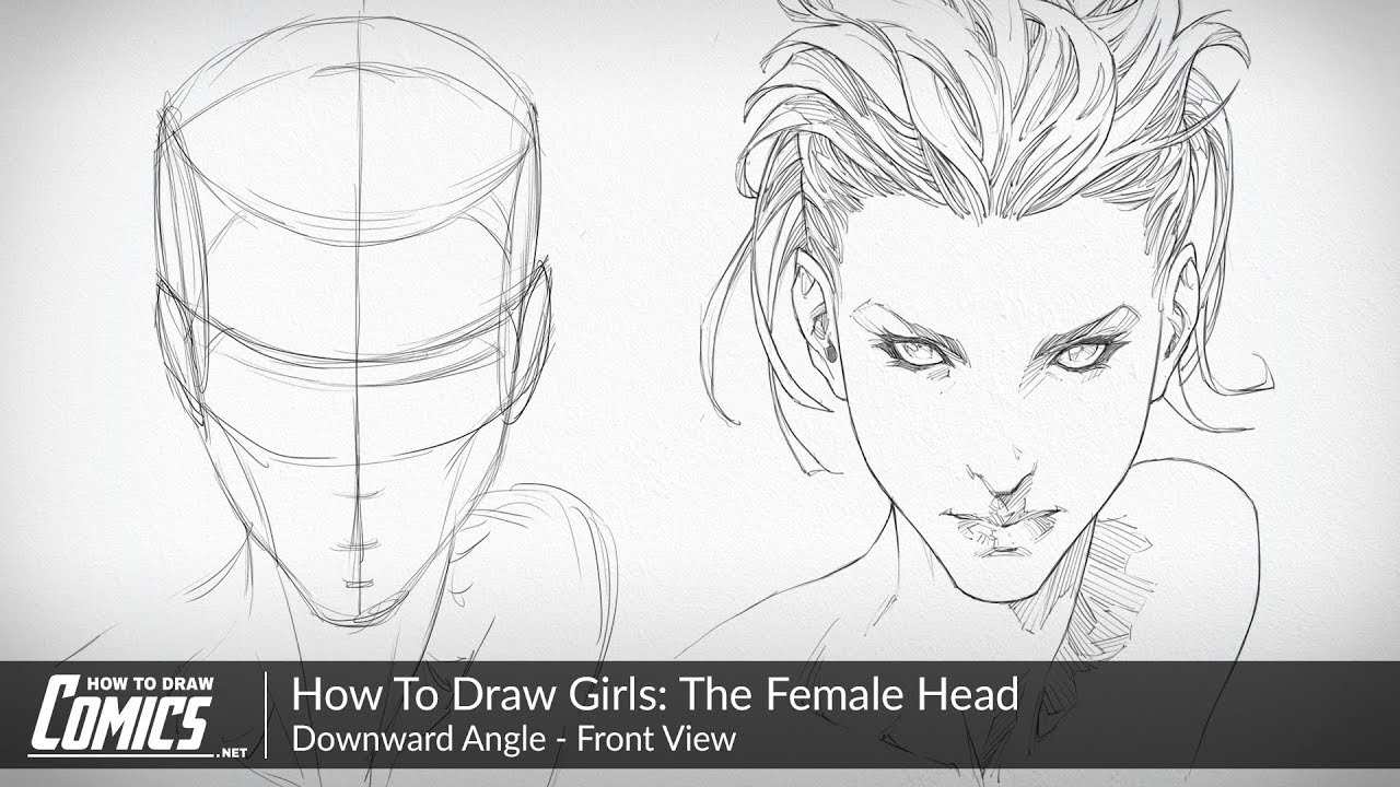 How To Draw Girls The Female Face