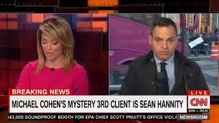 Shock in the Courtroom Michael Cohen 3rd client is Broadcaster Sean Hannity!  Who Knew?