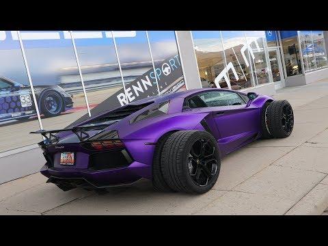 The Most Absurd Aventador Mod I've Done Yet!