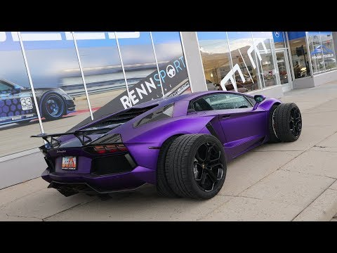 The Most Absurd Aventador Mod I've Done Yet!