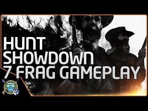 """Hunt:  Showdown Alpha - """"Elephant Gun"""" FTW (Raw Gameplay)"""