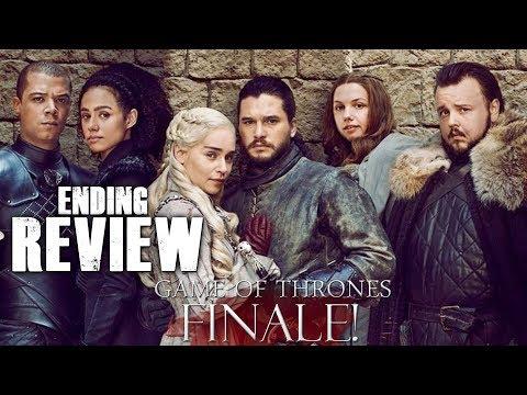 Game Of Thrones Season 8 Episode 6 - The Iron Throne - Video Review!