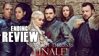 Game of Thrones Season 8 Episode 6 - The Iron Throne - Video Review!