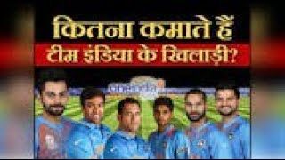 Salaries of cricketers कितना कमाते है।