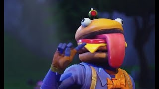 FORTNITE- Tue avec la nouvelle peau de tête de hamburger