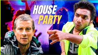 Bear Grylls In House Party - Man Vs Wild Part 3 -  Chote Miyan