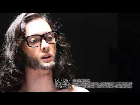 『サンローラン』インスパイアポスター撮影メイキング映像