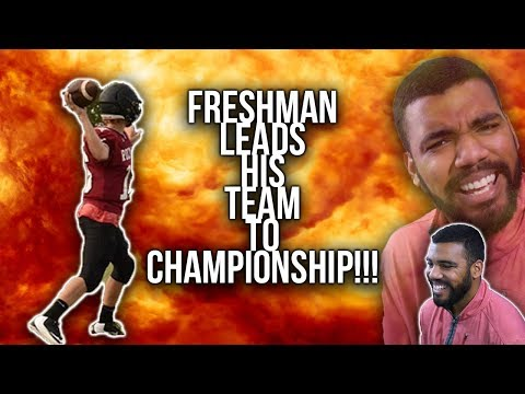 All This Freshman Quarterback Does Is WIN!!!- Jackson Roberson Highlights [Reaction]