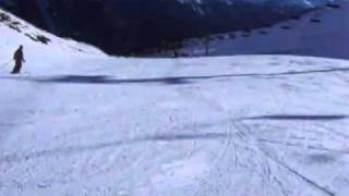 Skiing in Arinsal, Andorra