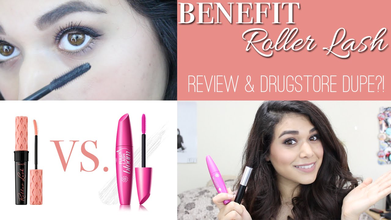 049c70e0675 Benefit Roller Lash Mascara Review + DRUGSTORE DUPE?! - YouTube