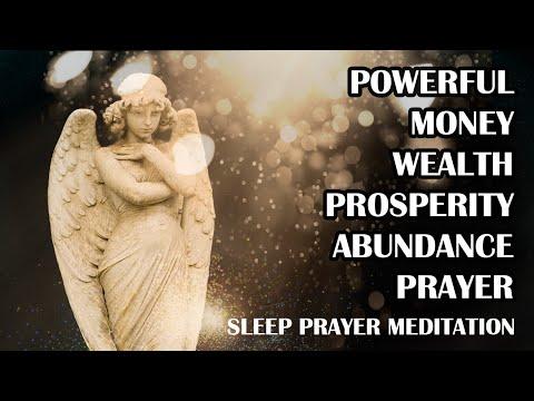 Powerful Money, Wealth, Success, Prosperity Sleep Pray | Money Meditation Prayer | God Prayer