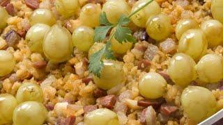 Receta de migas con uvas - Karlos Arguiñano