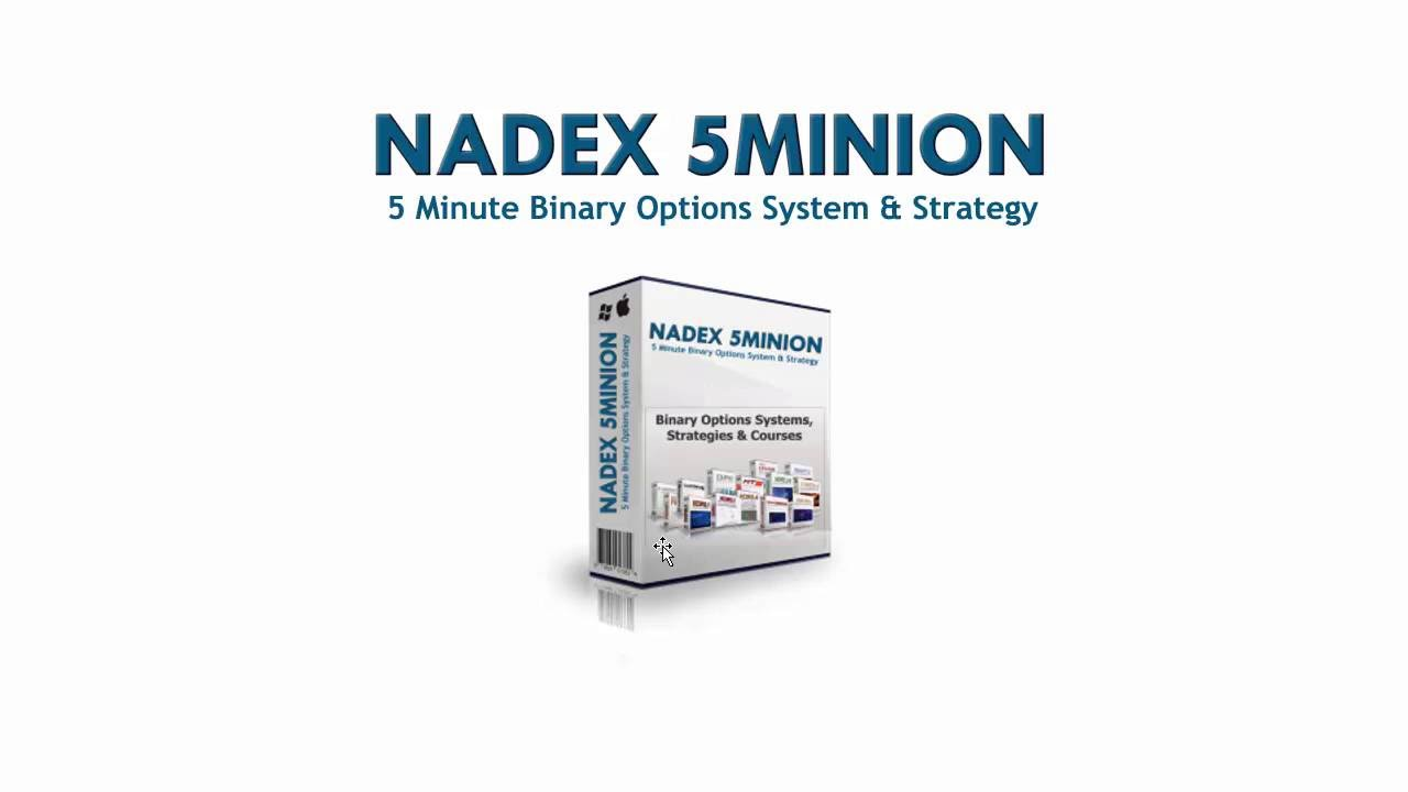 Nadex 5 minute binary options strategy