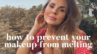 How to prevent your makeup from melting in the heat | ALI ANDREEA