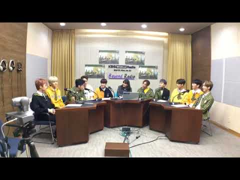 180420 PENTAGON (펜타곤) FULL INTERVIEW @ KBS World Radio Indonesia