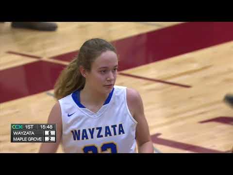 Wayzata vs. Maple Grove Girls High School Basketball