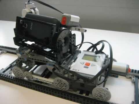 Camera Lego Mindstorm : Lego mindstorms nxt camera dolly youtube