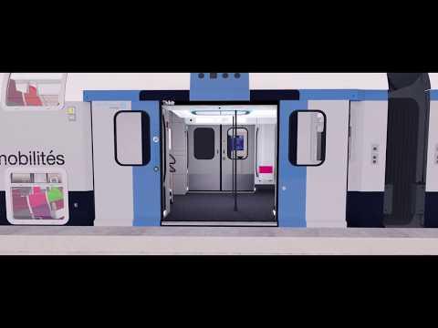 Le futur RER d'Île-de-France se dévoile