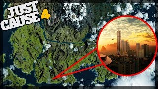 OFFICIAL Map Reveal - Just Cause 4 Map Analysis - Grasslands, Desert, Alpine, Rainforest