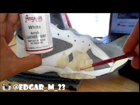 How To Restore Flint 7s ( repaint , cleaned , decreased and unyellowed) and on feet