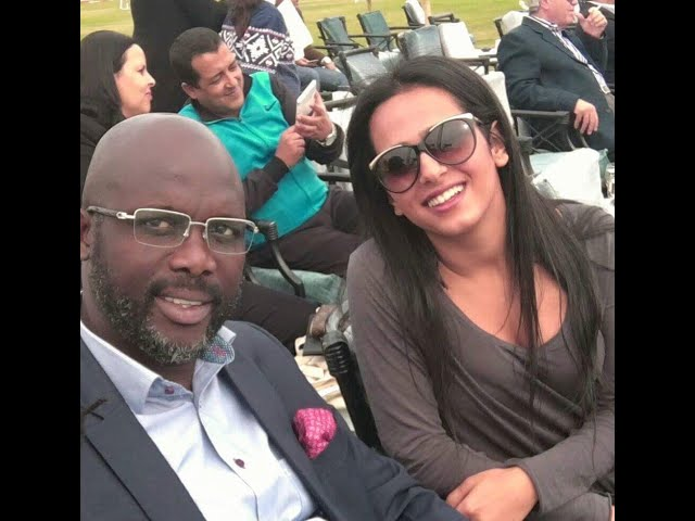 Sheikha welcome George Weah in the SATUC Sharm el-Sheikh tournament 2016 - دوري ساتوك