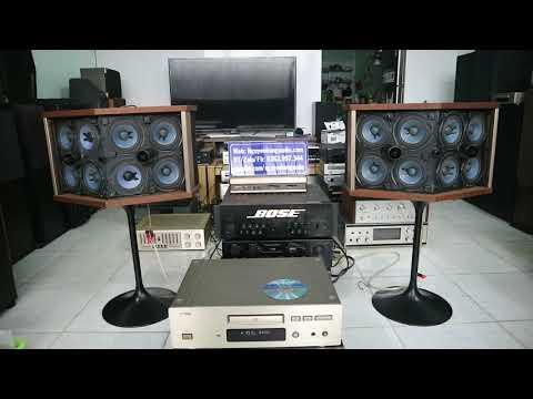 Đúng Chất Khủng Long Bose 901 Series Iv Ghép Ampli Bose 4702ii,quá Chuẩn Luôn|Nguyên Hùng Audio