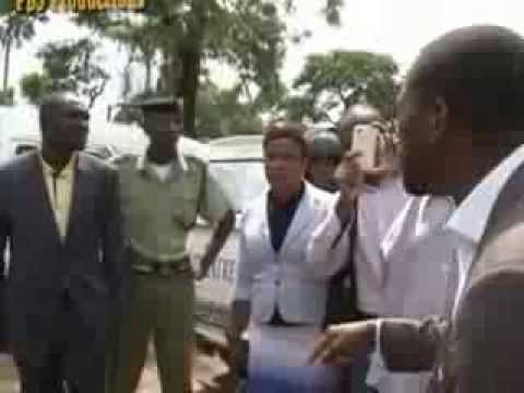 HAKAINDE HICHILEMA'S UPND MP MUNJI HAABENZU BRUTALISED AT WOODLANDS POLICE STATION 13 01 2014