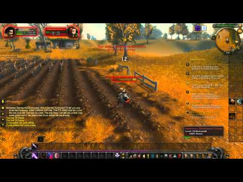 "World of Warcraft quest "" Murder was the case they gave me wow """