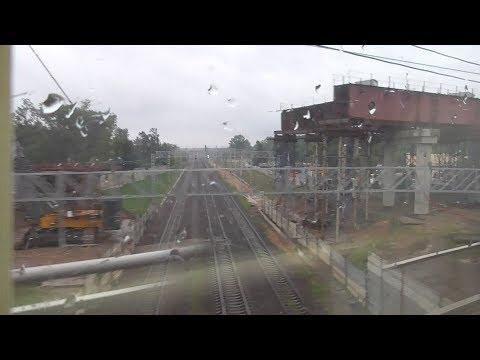 поезд №306 отправление с казанского вокзала