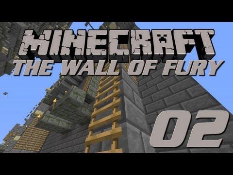 Minecraft Challenge : The Wall of Fury [2] - Maudites échelles !