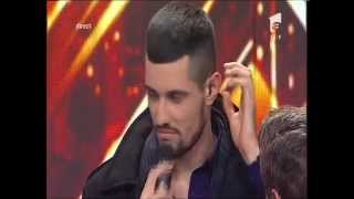 Moment emo?ionant la X Factor! Sergiu Braga, în lacrimi!