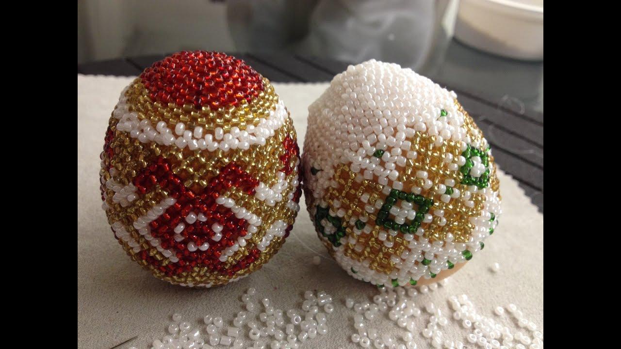 пасхалные яйца схемы рикунков бисер