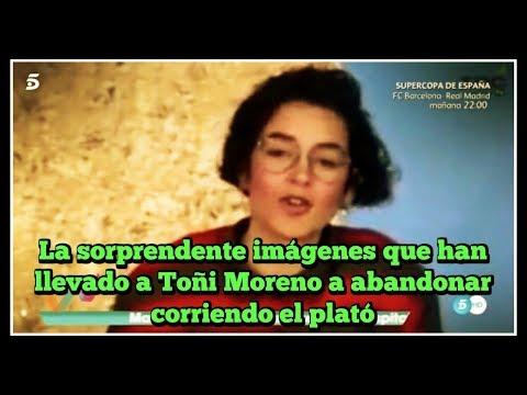 La sorprendente imágenes que han llevado a Toñi Moreno a abandonar corriendo el plató