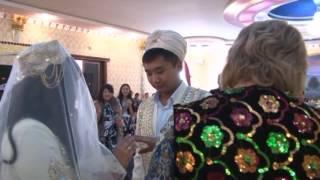 Свадьба Расула и Надиям на уйг. языке
