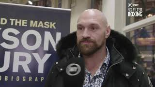 BEN DAVIDSON SACKED?! TYSON FURY ACCIDENTALLY LETS SLIP HIS DAD IS HIS NEW TRAINER!!